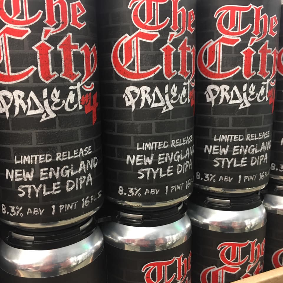 The City Project New England DIPA, New England style DIPA, The City New Hampshire, wine beer and spirits New Hampshire, limited release DIPA new hampshire